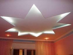 монтаж гипсокартоновые потолки г.Краснокамск